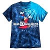 Disney Adult Shirt - 2017 Sorcerer Mickey Mouse Tie-Dye Adult Tee