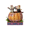 Disney Traditions by Jim Shore - Chip & Dale in Pumpkin