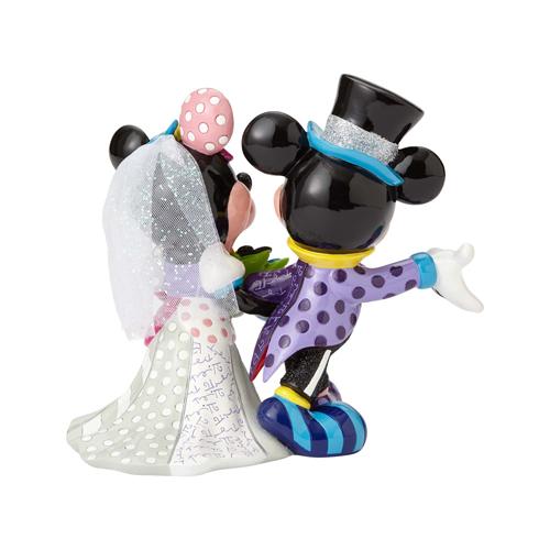 Disney by Britto - Mickey & Minnie Wedding