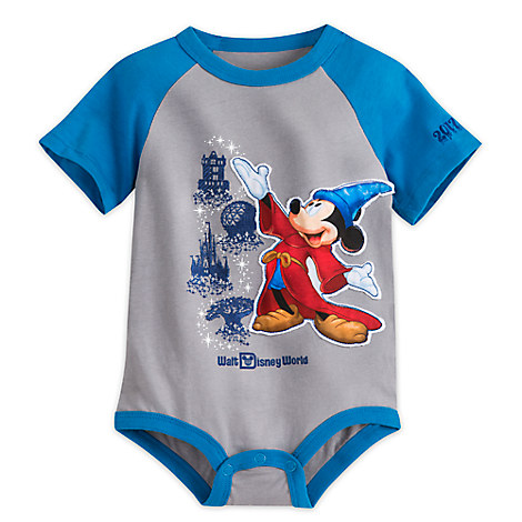 Disney Baby Bodysuit 2017 Sorcerer Mickey Mouse Bodysuit For Baby