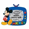 Disney Magnetic Photo Frame - Mickey Mouse soft rubber - blue
