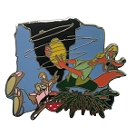 Disney Mystery Pin - Splash Mountain - Brer Rabbit And Brer Fox with Beehive