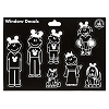 Disney Window Decal - Family with Ear Hats