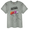 Disney Adult Shirt - 2017 Epcot Festival of Arts - Figment Grey