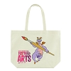 Disney Canvas Tote Bag - 2017 Epcot Festival of Arts - Figment