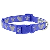 Disney Tails Dog Collar - Reflective Icons - Blue