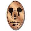Disney Pressed Penny - 2017 Mickey Mouse Head