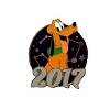 Disney Mystery Pins - 2017 Mickey and Friends - Pluto
