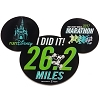 Disney 2017 Marathon Magnet - 26.2 Mickey Mouse I Did It! Full