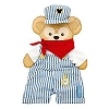 Disney Duffy Bear Clothes - Train Engineer Costume