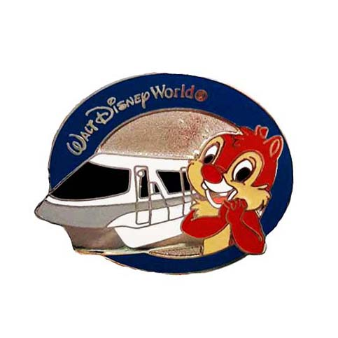 Disney Mystery Pins - Monorail Magic - Dale