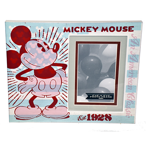 Disney Picture Frame - Mickey Mouse Est. 1928 -  Wood - 4