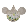 Disney Ornament - Reinhard Herzog - Mickey Ears - Green White - Large