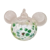 Disney Ornament - Reinhard Herzog - Mickey Ears - Green White - Small