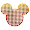 Disney Window Decal - Textured - Sunset Mickey Icon