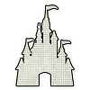 Disney Window Decal - Textured - Cinderella Castle