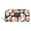Disney Leather Zipper Wallet - Loungefly - Star Wars BB-8 Droid