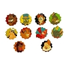 Disney Mystery Pins - Disney Grins - Complete Set - 10 Pins