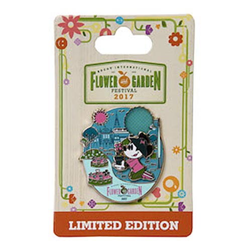 Disney Flower & Garden Festival Pin - 2017 Minnie Gardening