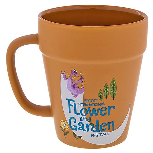 DIsney Coffee Cup - Flower and Garden Festival 2017 - Terra Cotta