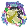 Disney Mardi Gras Pin - 2017 Mardi Gras Louis and Ray