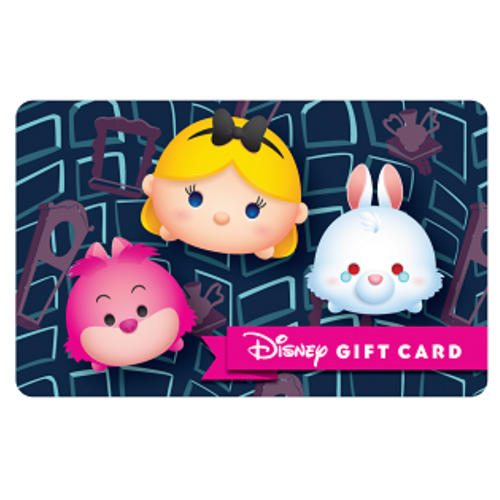 Disney Collectible Gift Card - Alice in Tsum Tsum Land