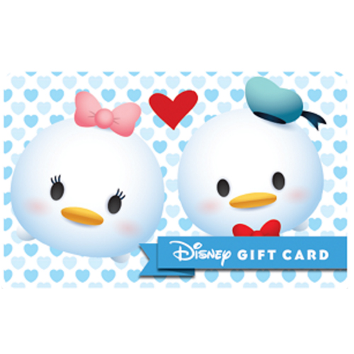 Disney Collectible Gift Card - Donald & Daisy - Tsum Tsum Love