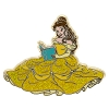 Disney Princess Pin - Belle Glitter Dress and Book