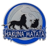 Disney Lion King Pin - Hakuna Matata Moon - Simba Timon Pumba