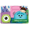 Disney Collectible Gift Card - Tsum Tsums Monsters Inc