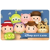 Disney Collectible Gift Card - Tsum Tsum Toy Story