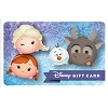 Disney Collectible Gift Card - Frozen Tsum Tsum Fun
