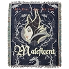 Disney Woven Tapestry Throw Blanket - Sleeping Beauty Maleficent