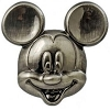 Disney Pewter Lapel Pin - Mickey and Pals - Deluxe Mickey Mouse