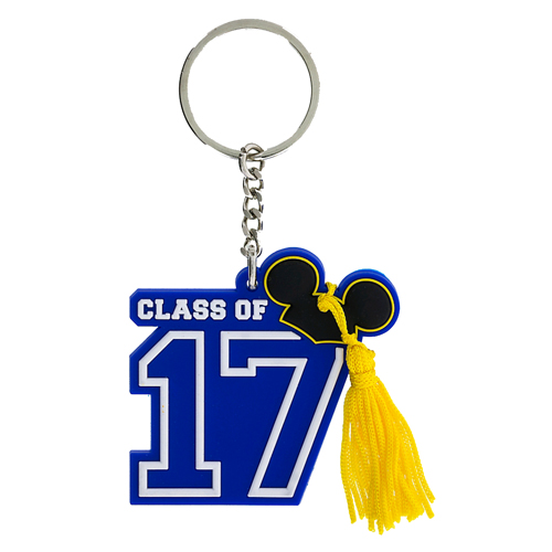 Disney Key Chain Ring - Graduation Class of 2017
