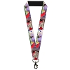 Disney Designer Lanyard - Sleeping Beauty & Prince Charming