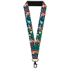 Disney Designer Lanyard - The Little Mermaid - Ariel Poses w/Flounder