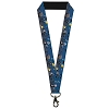 Disney Designer Lanyard - NBC - Jack Zero and Zombie Duck in the Cemetery