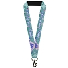 Disney Designer Lanyard -Little Mermaid Silhouette - Part of Your World