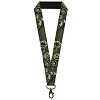 Disney Designer Lanyard - Toy Story - Buzz Poses/Stars LIKE A BUZZ