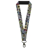Disney Designer Lanyard - Mickey & Minnie Comic Strip