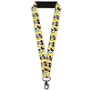Disney Designer Lanyard - Minnie Mouse w/Hat Stripe