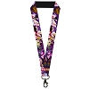 Disney Designer Lanyard - Alice in Wonderland & the Queen of Hearts