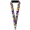 Disney Designer Lanyard - Mickey Mouse Expressions Multi Color