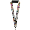 Disney Designer Lanyard - Cinderella Movie Reel & Quotes