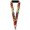 Disney Designer Lanyard - The Muppets - Faces Black