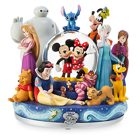 Disney Store 30th Anniversary Snow Globe
