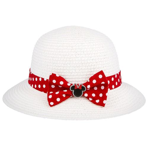 6775dd34908 Disney Straw Hat - Minnie Polka Dot Band - Youth
