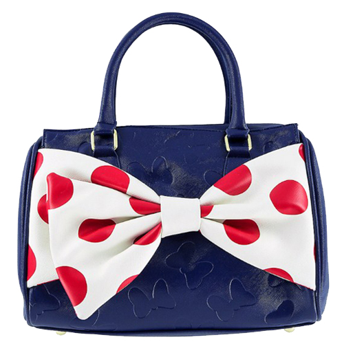 646f8341540 Your WDW Store - Disney Boutique Barrel Bag - Nautical Minnie Loungefly