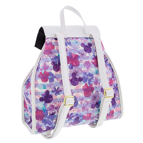 79b45ab9440 Disney Boutique Backpack - Mickey Icon Floral by Loungefly